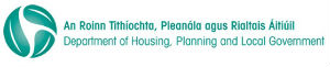 Department of Housing Planning and Local Government logo